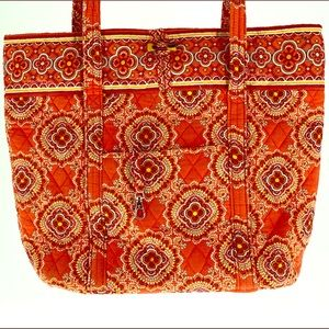 Vera Bradley Medium Tote Paprika Retired Orange